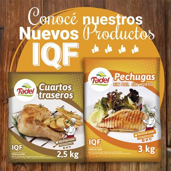 Productos IQF - FADEL S.A.
