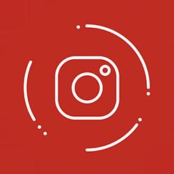 Instagram fondo rojo