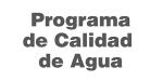 Programa de Calidad de Agua