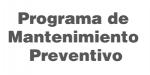 Programa de Mantenimiento Preventivo