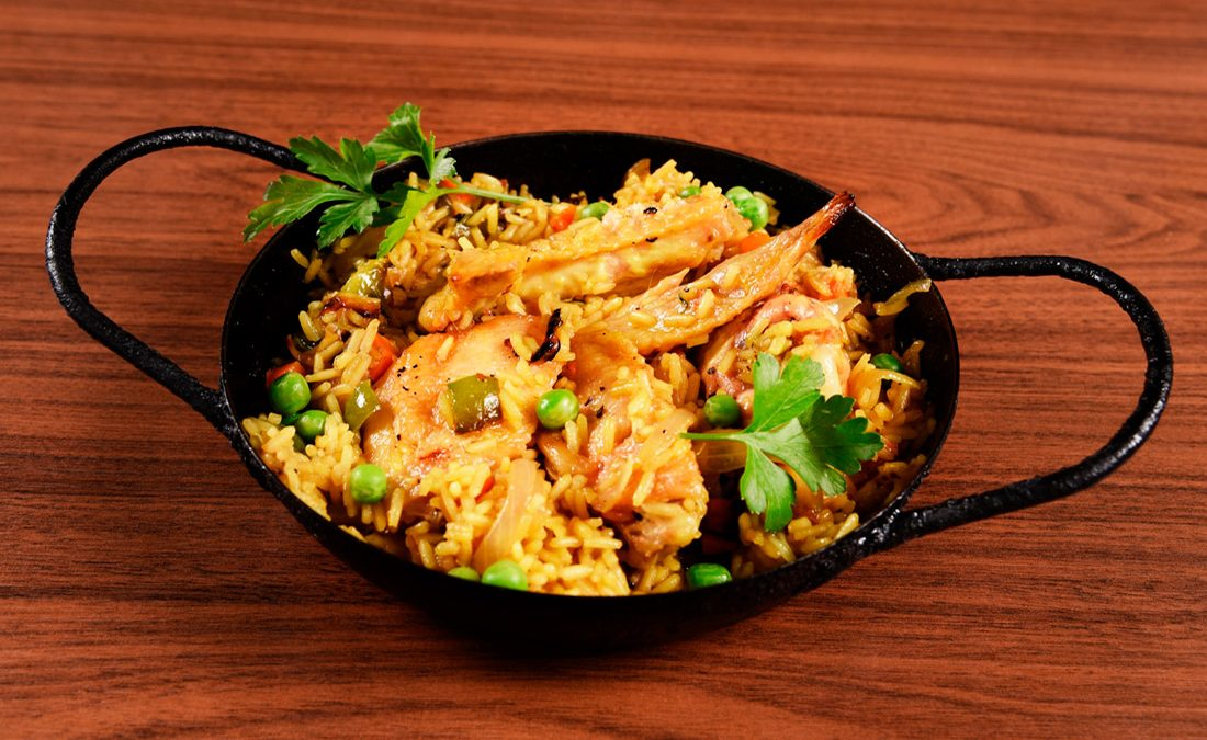 cazuela de pollo con arroz fadel